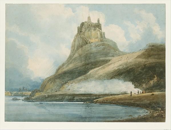 Lindisfarne Castle, Holy Island, Northumberland