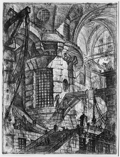The Round Tower, from 'Carceri d'invenzione' (Imaginary Prisons)