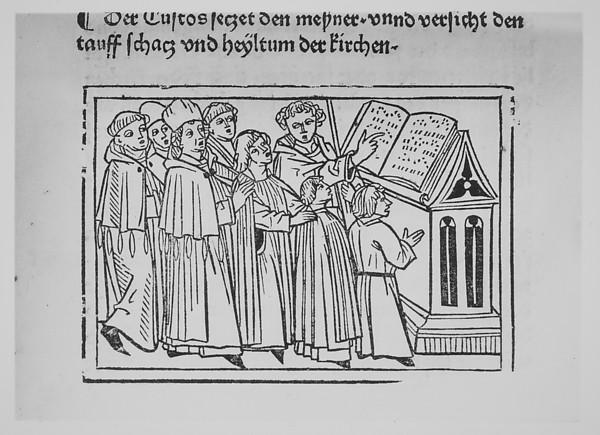 Fascinating Historical Picture of  with Der Spiegel des Menschlichen lebens on 7/23/1479