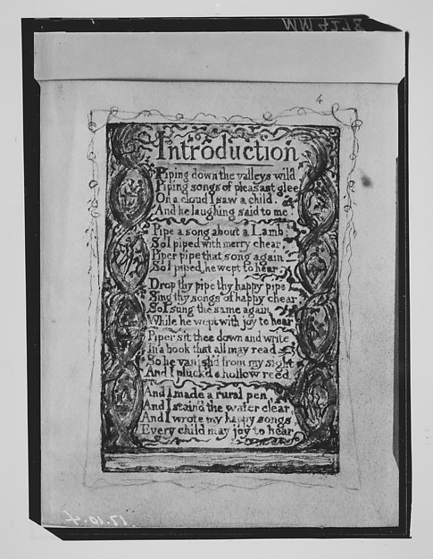 Songs of Innocence: Introduction