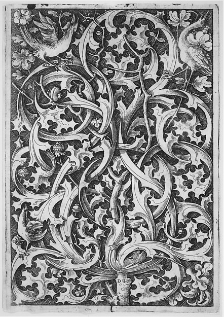 Ornamental Fillet with Thistle Motifs