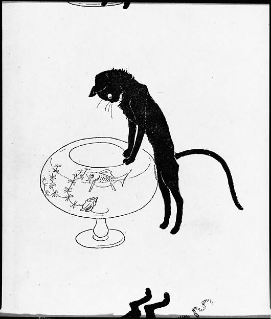 Steinlen Cats Drawings Images Sans Paroles Cats