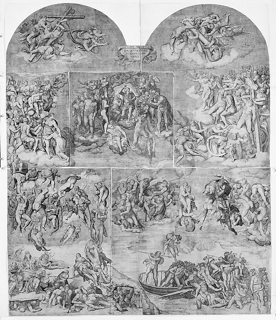 Resurrection of the Dead (lower left section of the Last Judgment)