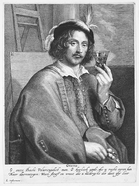 Allegory of Taste (Portrait of the Painter Jan Davidsz. de Heem, after a self-portrait)