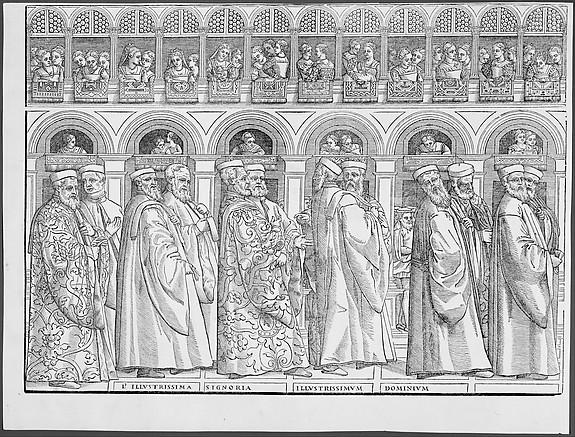 Procession of the Doge in Venice