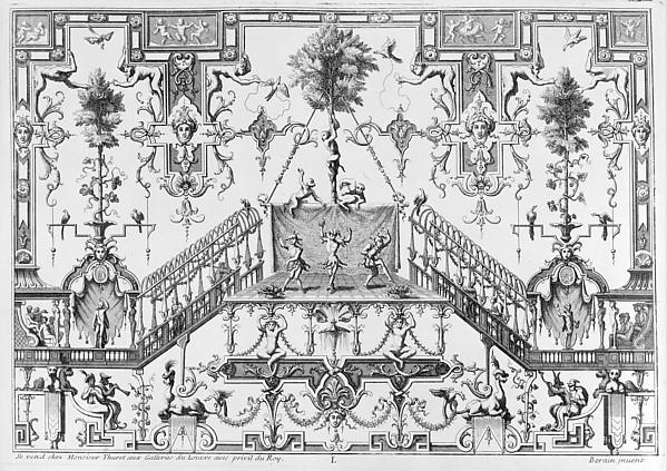 Ornament Designs Invented by J. Berain