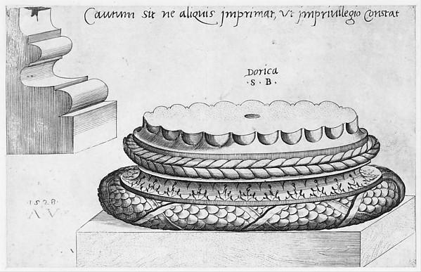 Speculum Romanae Magnificentiae: Doric Base