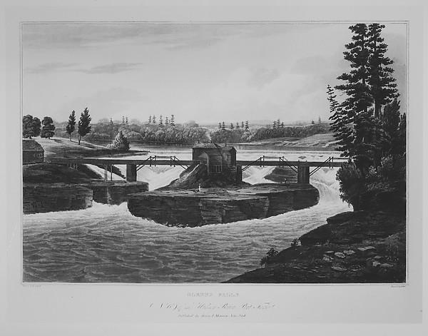 Glenns Falls (The Hudson River Portfolio, plate 6)