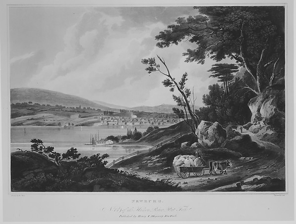 Newburg (The Hudson River Portfolio, plate 13 or 14)