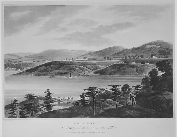 West Point (The Hudson River Portfolio, plate 16)