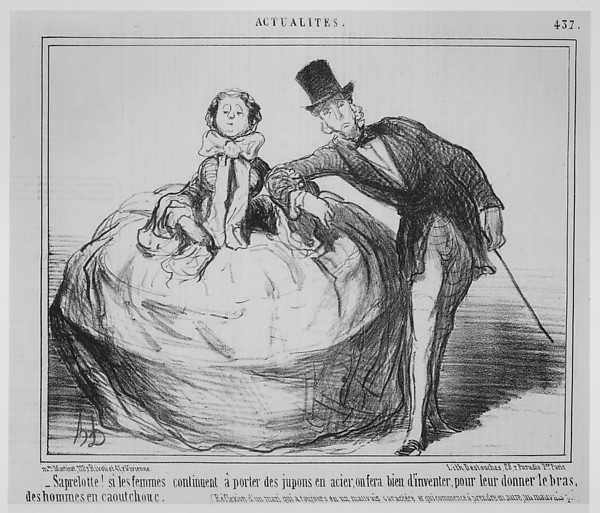 Fascinating Historical Picture of Honor Daumier with Le Charivari March 16 1854December 31 1857 on 3/16/1854