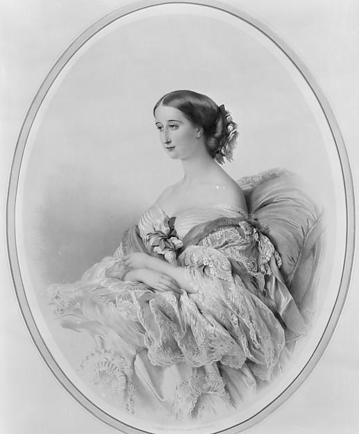 Portrait of the Empress Eugenie, after Winterhalter