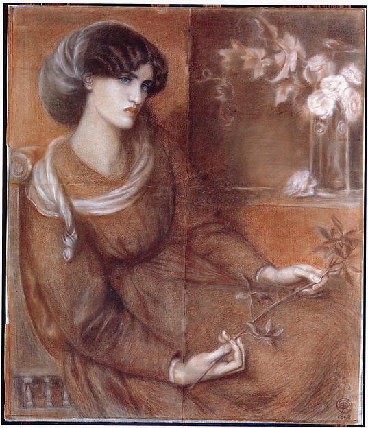 "Jane Morris: Study for ""Mariana"""