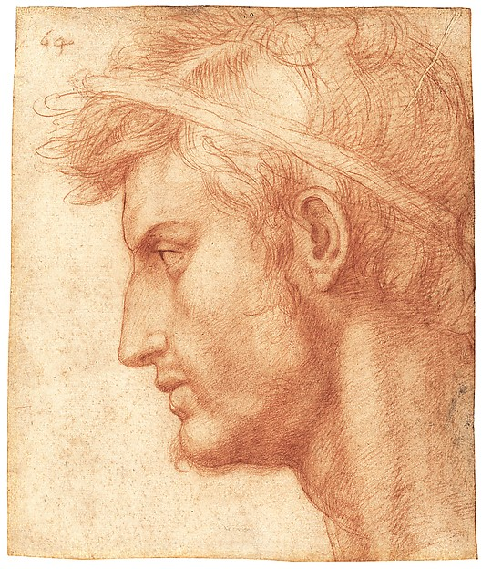 Study for the Head of Julius Caesar