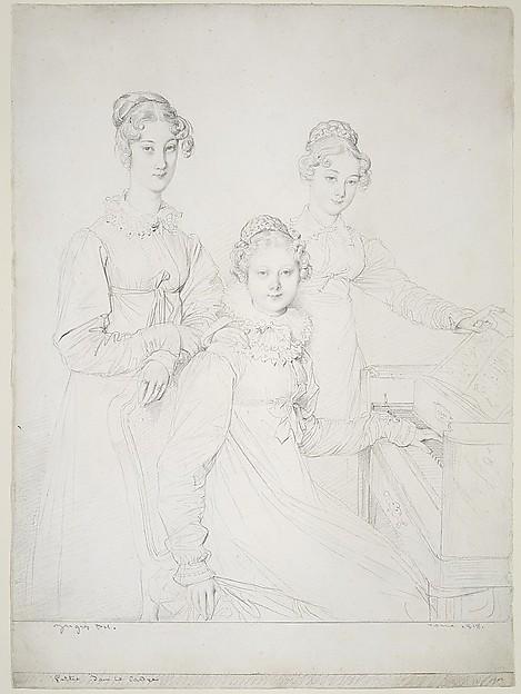The Kaunitz Sisters (Leopoldine, Caroline, and Ferdinandine)