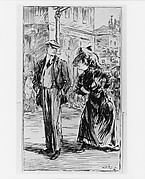 """Street scene, from Evelyn Van Buren's,""""Pippin"""" 1913, published by Century Company"""