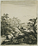 Landscape with a Goatherd and a Drover