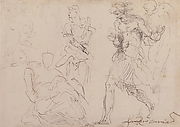 Standing and Seated Figures