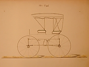 Design for Square Box Wagon, no. 466
