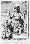 Christ as a Fountain, with Two Jesuits
