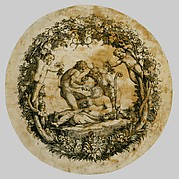 Wilton album, folio 41: The Drunken Silenus (Tazza Farnese)