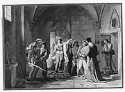 Joan of Arc Imprisoned in Rouen