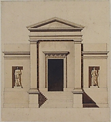 Design for a Neo-Classical Building