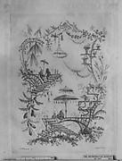 Ornament Design from Nouvelle Suite de Cahiers Arabesques Chinois