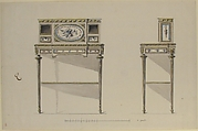 Design for a Lady's Writing Desk