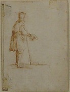 A Beggar Holding a Hat