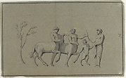 Drawing of Group of Centaurs