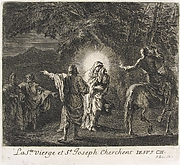 Virgin and St. Joseph Searching for Christ