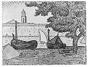 Saint-Tropez (from L'Estampe originale, Album VII, plate 69)