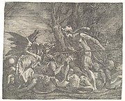 Cadmus fighting the Dragon