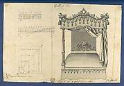 Gothick [Gothic] Bed, in Chippendale Drawings, Vol. I