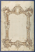 Picture Frame, in Chippendale Drawings, Vol. I