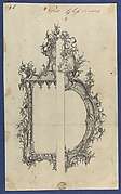 Pier Glass Frames, in Chippendale Drawings, Vol. I