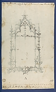 Mirror, in Chippendale Drawings, Vol. I
