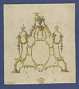 Overmantle, in Chippendale Drawings, Vol. I