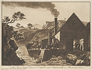 The Iron Forge between Dolgelli and Barmouth in Merioneth Shire, Plate 6 of XII Views in North Wales