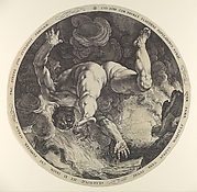 Ixion, from The Four Disgracers
