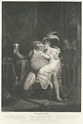 Doll Tearsheet, Falstaff, Henry and Poins (Shakespeare's Second Part of King Henry the Fourth, Act II, Scene IV:)