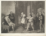 Shakespeare. Measure for Measure, Act II, Scene I: Angelo's House - Escalus, a Justice, Elbow, Froth, Clown, Officers, etc.