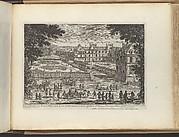 Autre Veüe de la Cour de Fontaines et la Galerie d'Ulisse à Fontaine-bleau