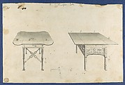 Breakfast Tables, from Chippendale Drawings, Vol. II