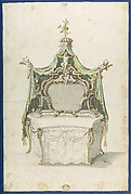 Toilet Table, from Chippendale Drawings, Vol. II