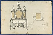 A Lady's Dressing Table, from Chippendale Drawings, Vol. II