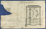 Commode Clothes Press, from Chippendale Drawings, Vol. II