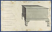 Clothes Chest, from Chippendale Drawings, Vol. II