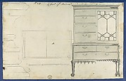 Chest of Drawers, from Chippendale Drawings, Vol. II